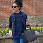 Carolina Arvelo Miss Boucle Noire Outfit