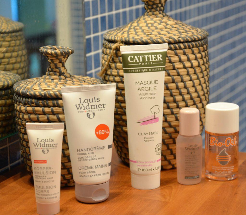 Produits pour peaux sensibles