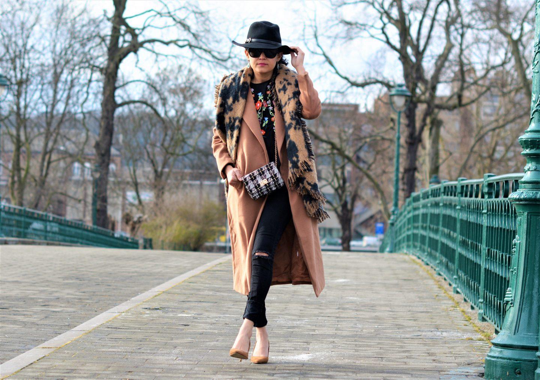 Comment porter un manteau camel