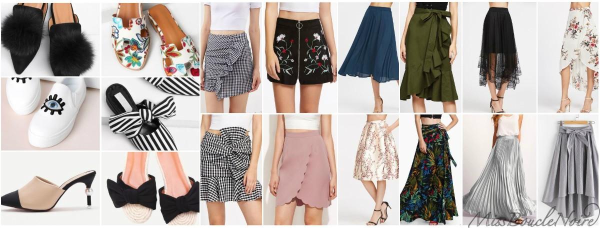 Focus sur les jupes et chaussures les plus en tendance cet été !