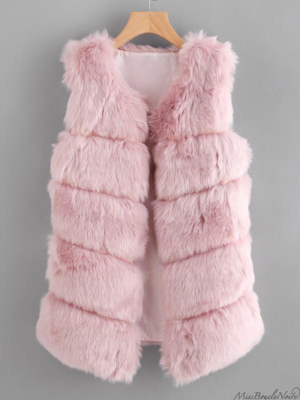veste-rose-fausse-fourrure-automne-hiver-2017-2