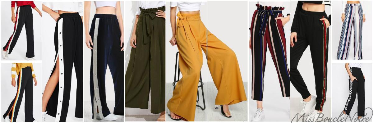 Les tendances pantalons du printemps 2018