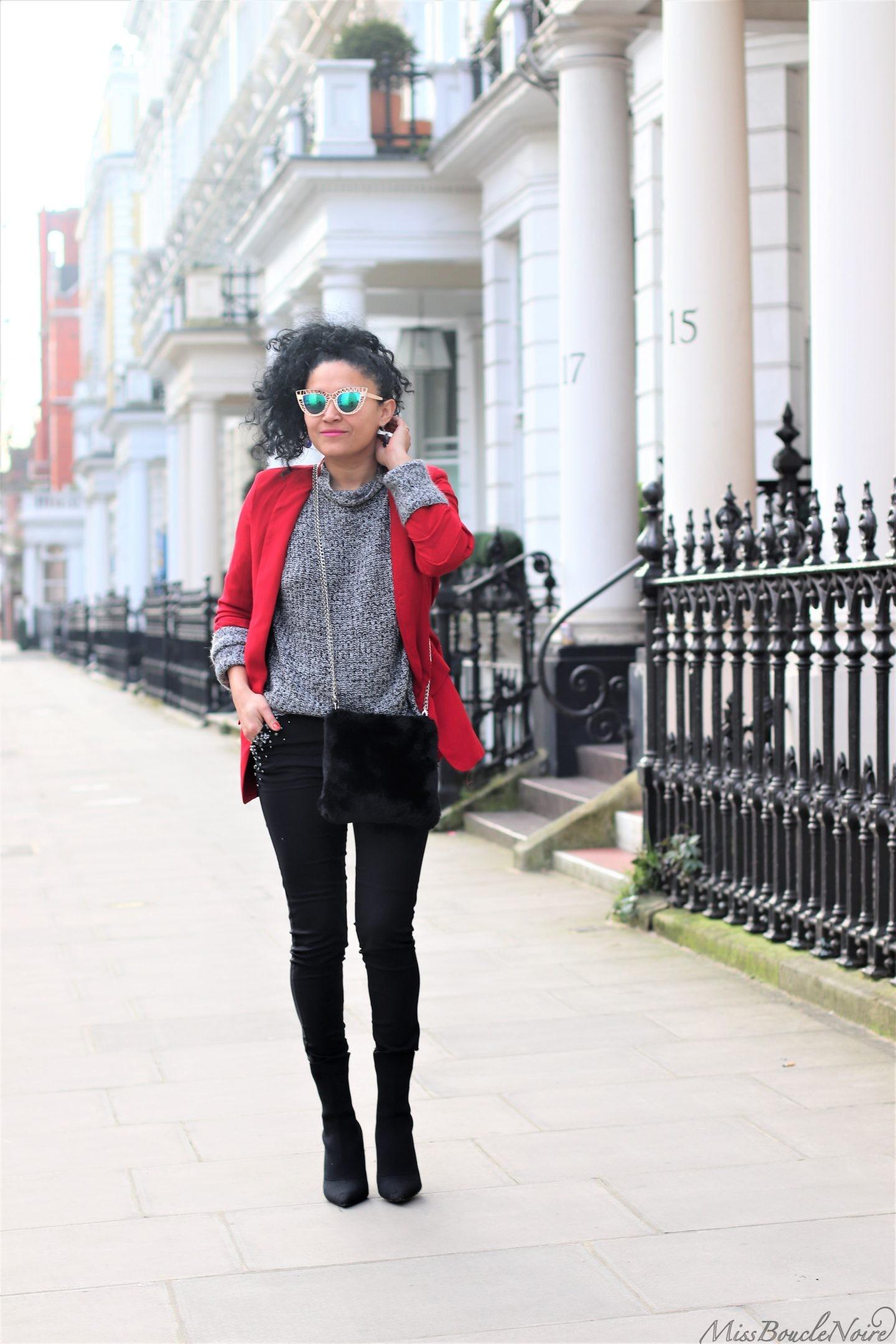 En rouge et noir à Londres