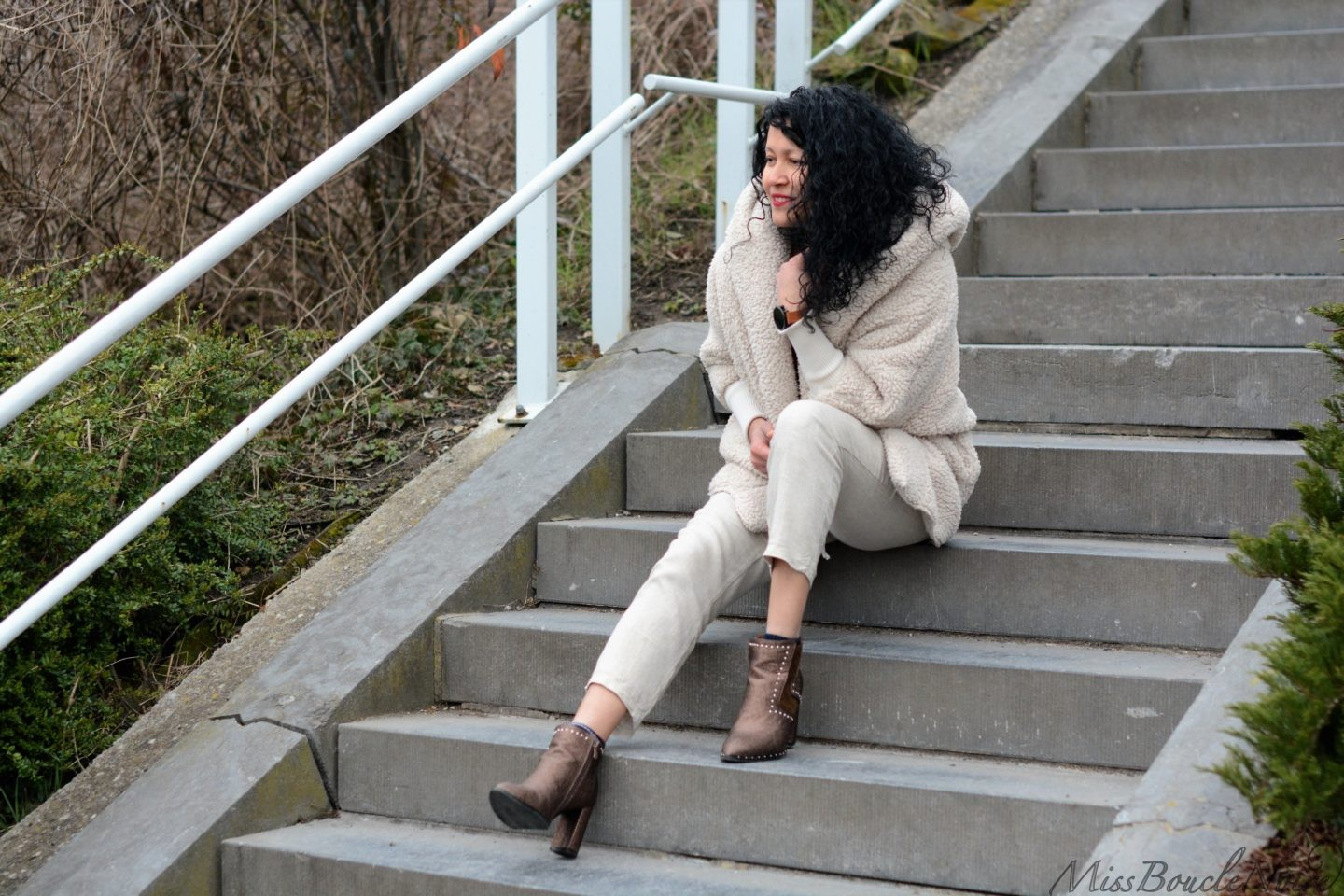 Look pastel avec mes bottines Cendriyon
