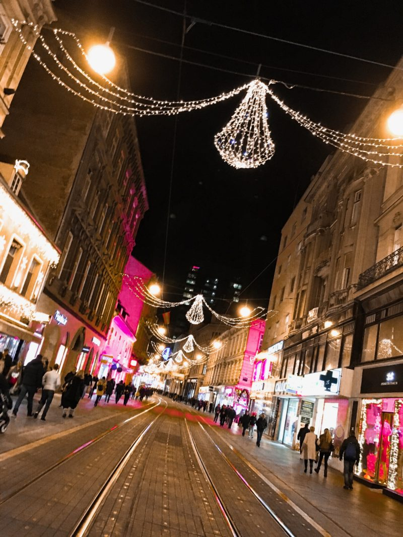 Advent xmas trip in Zagreb, Croatia Magic Xmax in town by Miss Boucle Noire