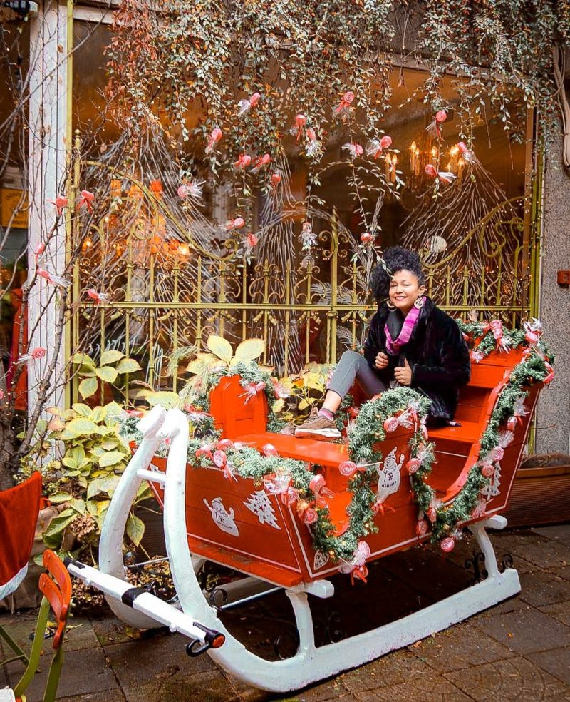 Advent xmas trip in Zagreb, Croatia Magic Winter Xmas decorations by Miss Boucle Noire