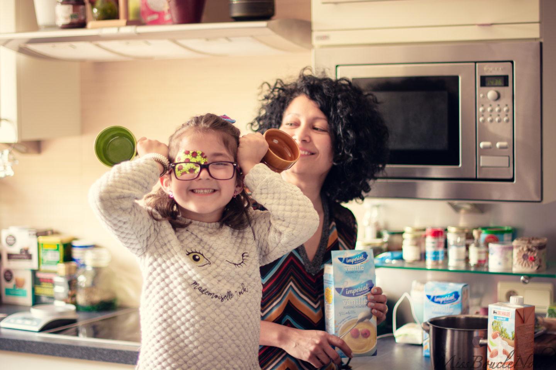 Cocinando con los niños <3